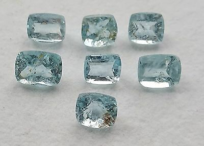 Aigue marine 48.37 carats 7 pièces - Natural aquamarine wholesale lot