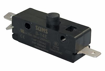 SUNS S-14E Pin Plunger Snap Action 25A Micro Switch ASPDF3P04AC