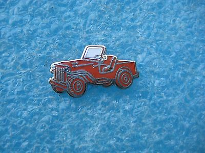 Willys Jeepster  Lapel Pin Hat Pin  3/4 Inch By 3/8