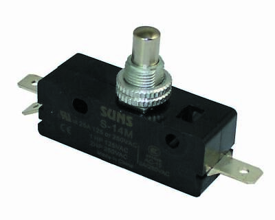 SUNS S-14M Panel Plunger Snap Action 25A Micro Switch ASPDF3J04AC