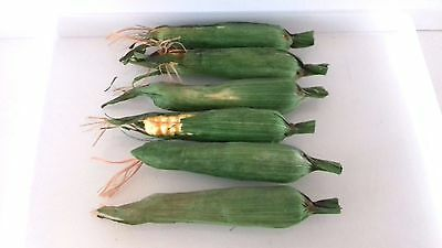 Sweet Corn Wrapped, Artificial Vegetables, Vintage Foam