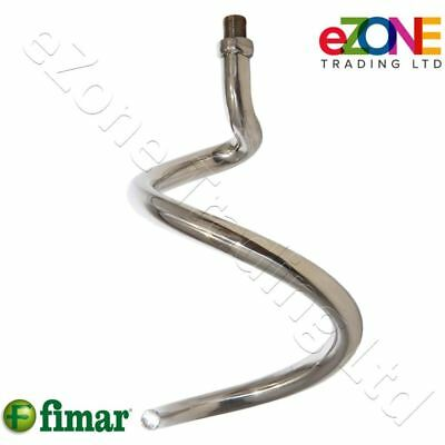FIMAR Genuine Spiral Hook SL0069 Stainless Steel for Dough Mixer IM25, IM38