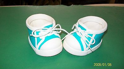 CABBAGE PATCH KIDS DOLL shoes BLUE COLECO DESIGNER kids