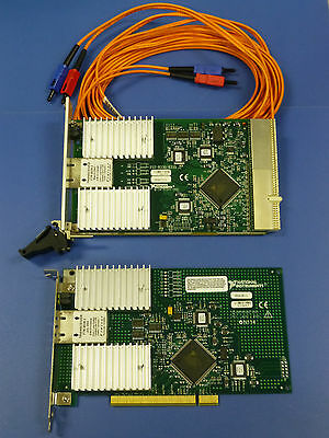National Instruments PXI-8335 / PCI-8335 MXI-3 Interface Cards w/ Fiber Cable