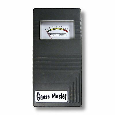 Gauss Master - Electro Magnetic Field Sensor Meter With Sound.