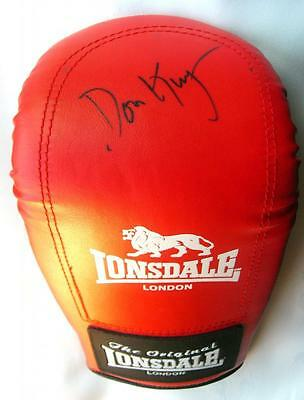 Don King Autograph Signed Boxing Glove Mitt