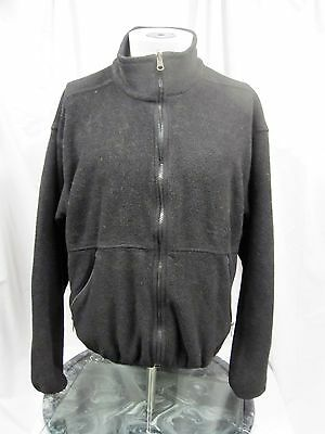 THE NORTH FACE Full-Zip Fleece Jacket Black Men's Medium M