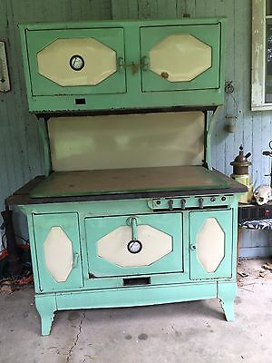 Wood and coal kitchen stove