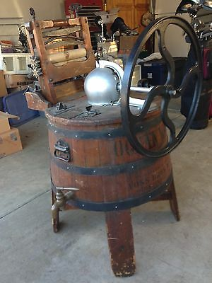 Antique Wooden Washer