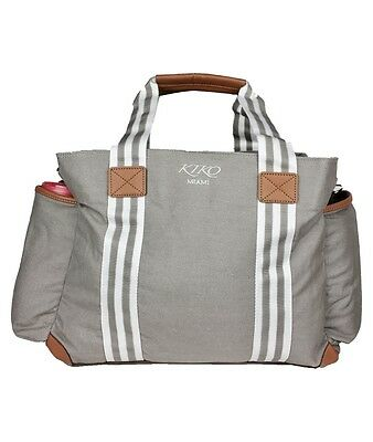 Multi-function Designer Tote Diaper Bag with Changing Mat and Stroller Straps