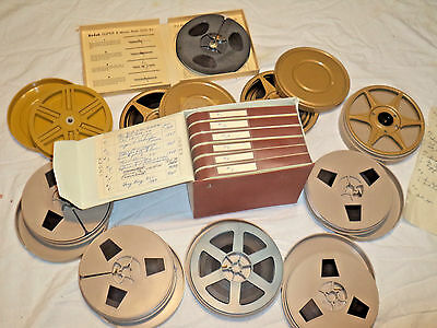 Vintage 8mm Film --Travel Movies Home Made 1960s