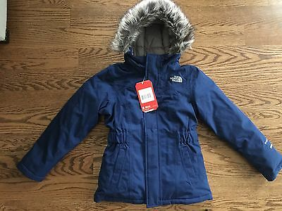 The North Face Girls Greenland Down Parka Jacket S Small 7 8 NWT