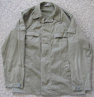 East German DDR Raindrop Strichtarn Camo Uniform Jacket UG52 Ultra Tall Large