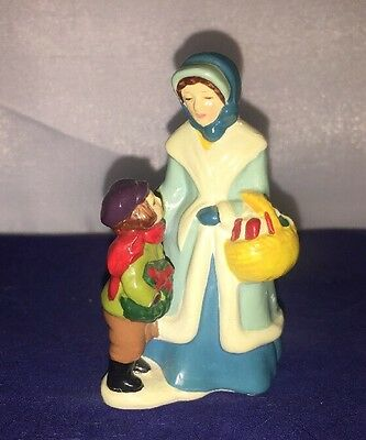 "Vintage AVON MCCONNELL'S CORNERS CHRISTMAS 1982 FIGURINE- Porcelain 3"" Tall"