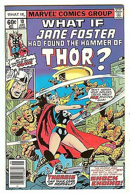 What If? 10   What if Jane Foster was Thor?