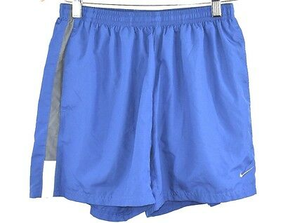 Nike Dri Fit Kids Youth Athletic Running Lined Shorts Pockets Size M Swoosh