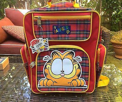 Vintage 1978 NWT Garfield Backpack PAWS Inc. New With Tags RARE AMERICA'S CAT