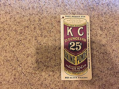 ANTIQUE KC BAKING POWDER 1942 GROCERS WANT BOOK  ADVERTISING BOOKLET Chicago Ill