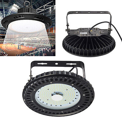 100W UFO LED High Bay Light 18000lm Warehouse Factory Outdoor Fixture 220V-240V