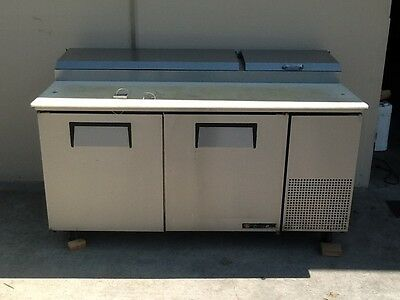 True Tpp-67 Pizza Prep Table, Refrigerated, Used, Works Great