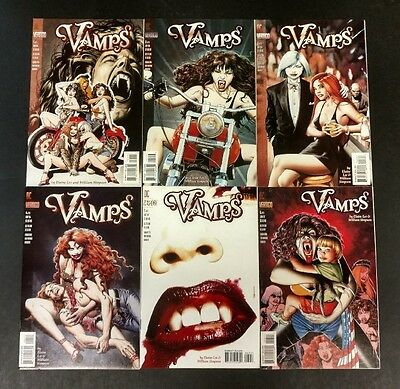 Vamps 1994 #1 To 6 Nm Minus Complete Bloody,sexy Good Story Line!