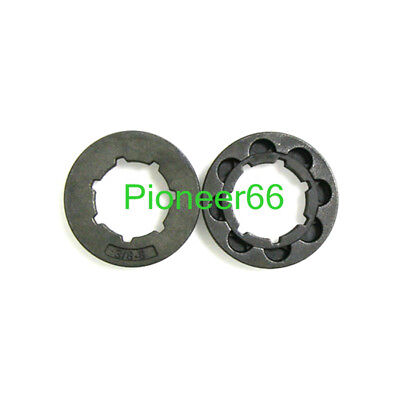 2 Chainsaw Rim Sprocket 3/8 8T for Stihl MS461 MS441 MS362 MS360 036 038 # 22273