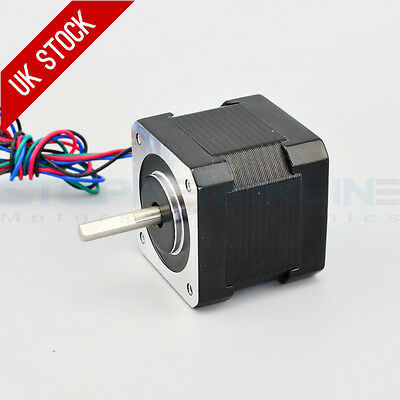 0.9deg Nema 17 Stepper Motor Bipolar 0.9A 36Ncm/50oz.in 42x42x39mm 4-wires DIY