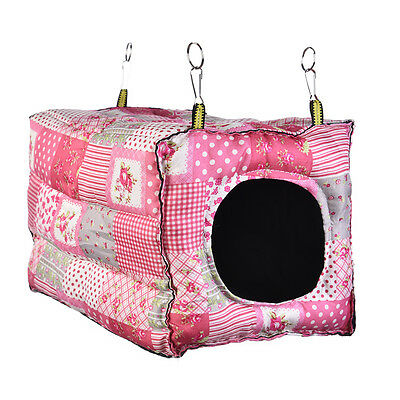 Square Hanging Bed Hammock for Ferret Rabbit Rat Hamster Parrot  Squirrel Toy