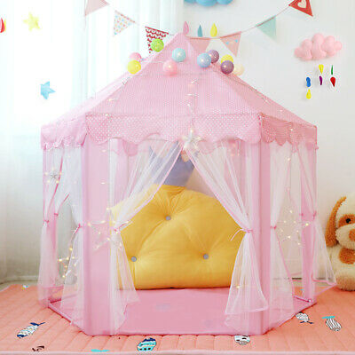 Folding Baby Children Play House Kids Outdoor Indoor Fun Playhuts Game Tent Toys