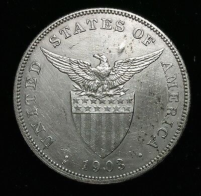 1903s Peso US-Philippines  Silver Coin - lot#3