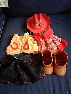 Cabbage Patch Kids Doll Sheriff Outfit Clothes Boots Hat