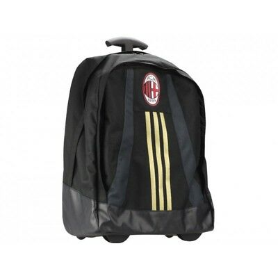 ACM TROLLEY BLK - Cartable à roulettes AC Milan Football Garçon Adidas