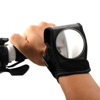 Bicycle Wristband Flexible Rear View Mirror Safety Backeye Wrist Band Safety New