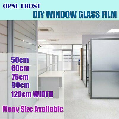 All Size Sand Blast Self Adhesive Privacy Frosting Removable Window Glass Film