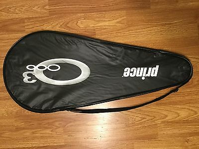 Prince O3 Standard Tennis Racquet Cover Bag w/ Adjustable Strap - NEW sz 28.5x12