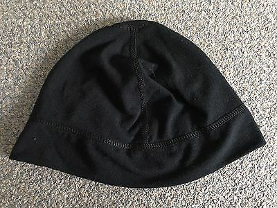 Seirus Black Skull Cap Helmet Under Beanie Adults Small Or Youth