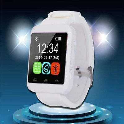 UK Hot Fashion U8 Bluetooth Smart Wrist Watch Touch Screen For Android And IOS