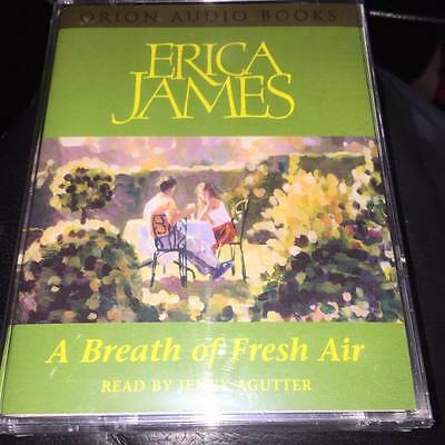 A Breath of Fresh Air by Erica James 2 CASSETTE AUDIOBOOK NEW SEALED