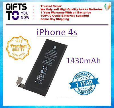 iphone 4S Replacement Battery 1430mAh Genuine 0 Cycle Battery