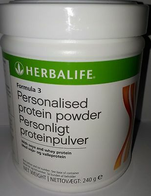 Herbalife Formula 3 Personalised Protein Powder 240g FREE DELIVERY!!!