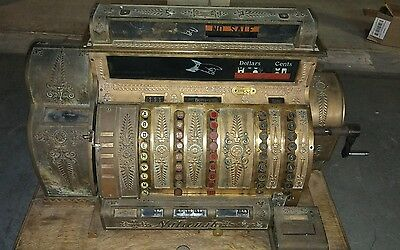 Vintage National 532 Cash Register 532-E-L