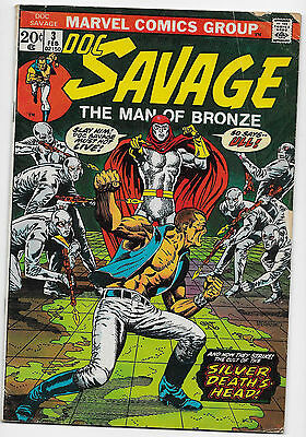 Doc Savage Man Of Bronze 3 4 5 6 7 8 Giant-Sized 1 Complete Run Marvel