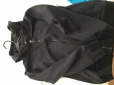 Under Armour Juniors Black Zip Up Hoodie Size Large