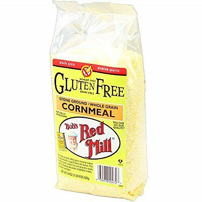 BOBS RED MILL, CORN MEAL GF, 24 OZ, (Pack of 4)