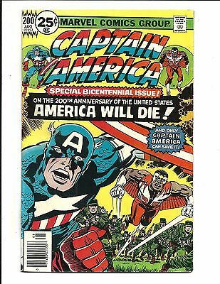 CAPTAIN AMERICA # 200 (KIRBY Art, CENTS ISSUE, AUG 1976), FN/VF