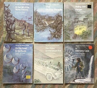 Tim and the hidden people by Sheila k McCullagh. Set of six books