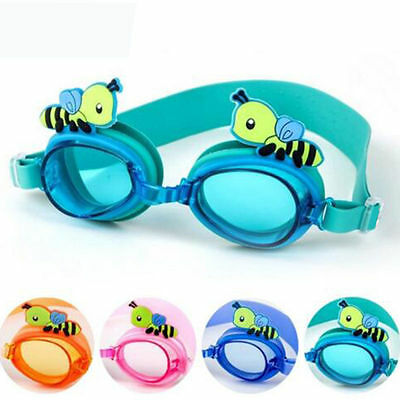 Junior Boys Girls Summer Mask Goggles Baby Swimming Glasses Anti-Fog Funny Beach