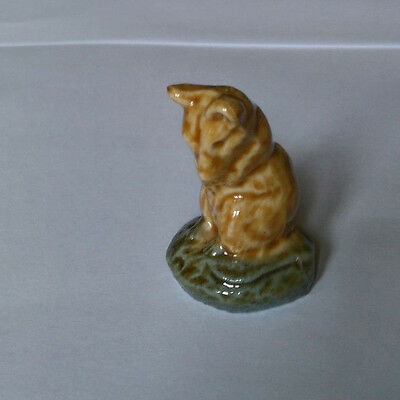 WADE 1970s Animal MOUSE ,SEATED English Whimsies Set Eight 1977
