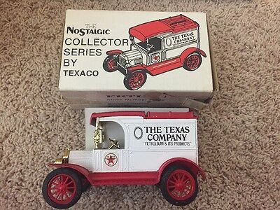 1984 Texaco 1913 Ford Model-T Bank #1 in Series Ertl With Box