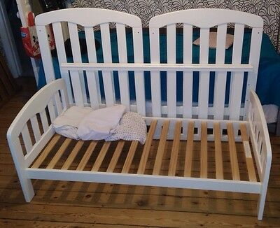 John Lewis Rachel Cotbed bed in White